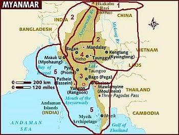 Climates in Burma