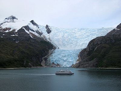 Glacier in Chile