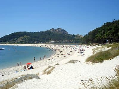 Cies Islands, beach