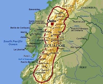 Ecuador, climate of the Andes