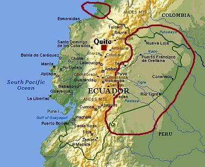 Ecuador, equatorial climate