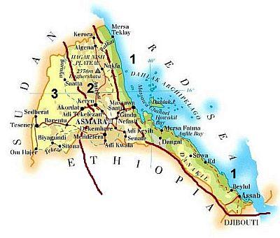 Climates in Eritrea