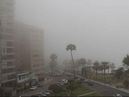Fog in Lima