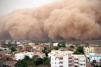 Haboob in Khartoum