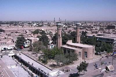 Herat, aerial views