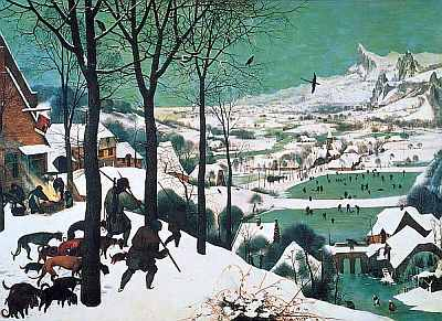 Pieter Bruegel the Elder, hunters in the snow - 1565