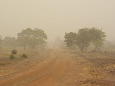 Harmattan in Ivory Coast