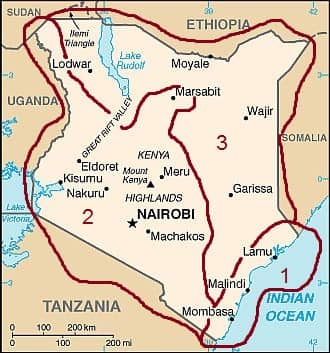 Climates in Kenya