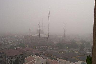 Harmattan in Lagos
