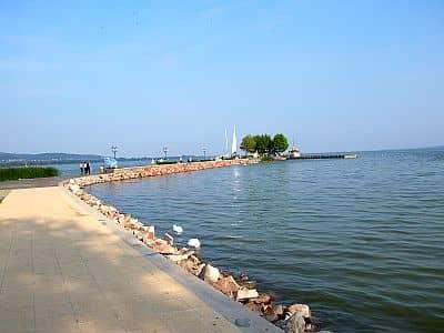 Lake Balaton at Keszthely