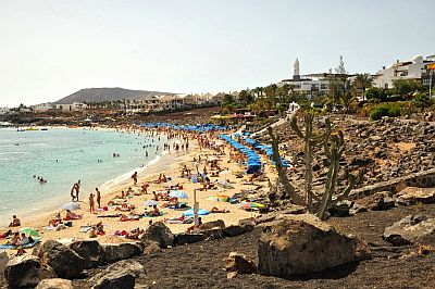 Beach in Lanzarote