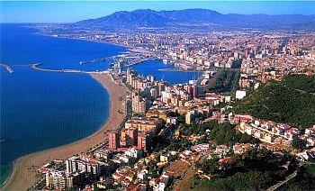 Malaga, view