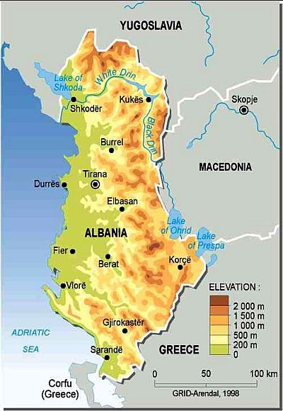 Albania climate: average weather, temperature, precipitation, best time