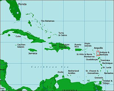 Antigua And Barbuda climate: average weather, temperature ...