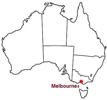 Melbourne, where it is