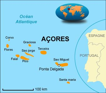 Azores climate: average weather, temperature, precipitation, best time