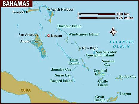 Bahamas climate: average weather, temperature, precipitation, best time
