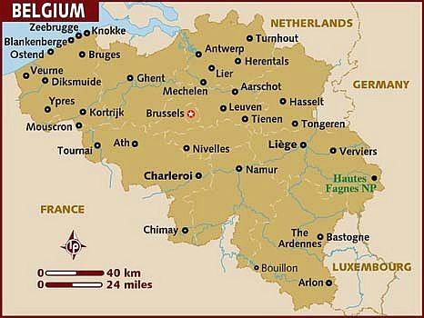 Belgium climate: average weather, temperature, precipitation, best time