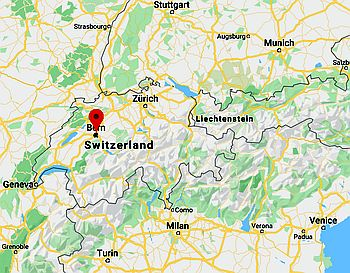 Bern, where it's located