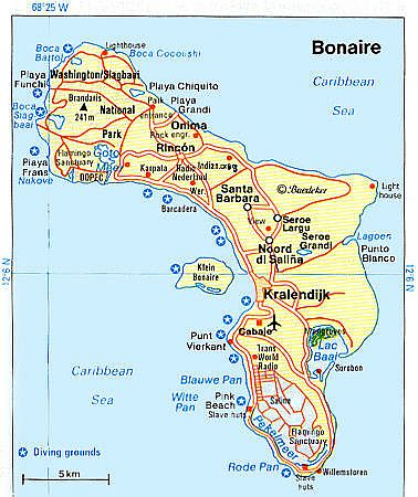 Map - Bonaire
