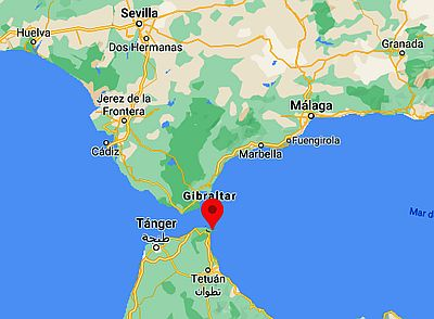 Ceuta, where it's located