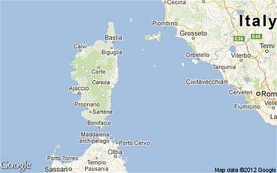 Corsica climate: average weather, temperature, precipitation ...