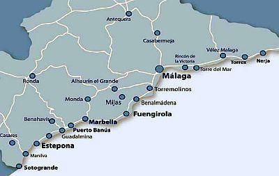 carte costa del sol Costa Del Sol climate: average weather, temperature, precipitation