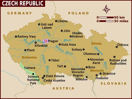 Map - Czech Republic