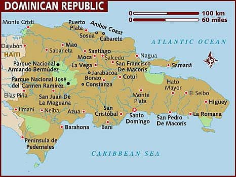 Map - Dominican Republic