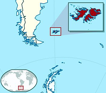 Map - Falkland Islands