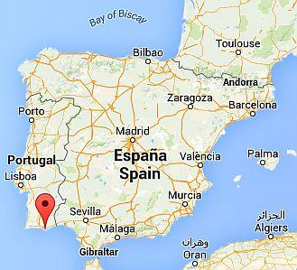 Faro, where it lies