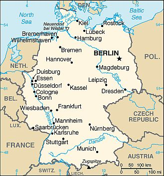 Map Of Germany Showing Cologne.Germany Climate Average Weather Temperature Precipitation Best Time