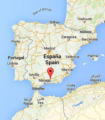 Granada, where it's located