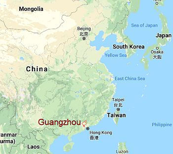 Guangzhou, where it is located
