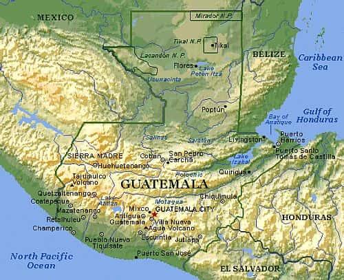 Guatemala climate: average weather, temperature, precipitation, best ...