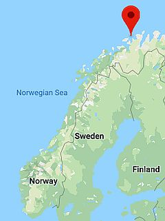 Hammerfest, where it's located