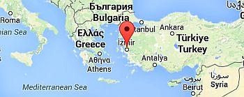 Izmir, where it is