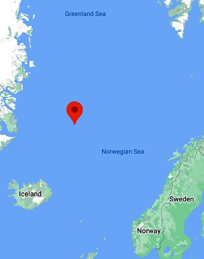 Jan Mayen, where it is
