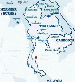 Koh Samui, where it is