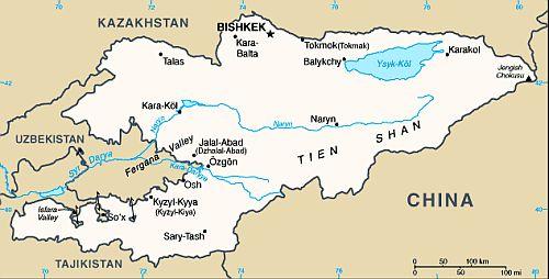 Kyrgyzstan climate: average weather, temperature, precipitation ...