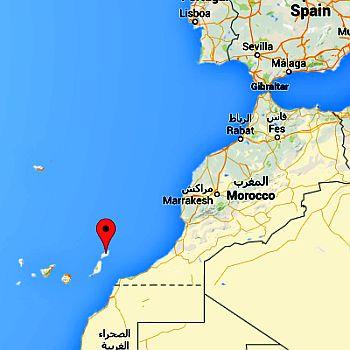 Lanzarote, where it's located