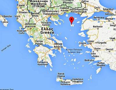 Position of Lemnos