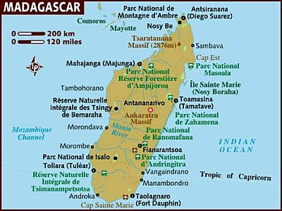 Map - Madagascar