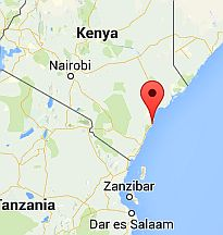 Malindi, where it's located