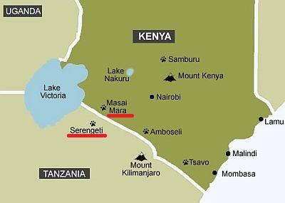 Serengeti Plain On Map Of Africa.Serengeti Climate Average Weather Temperature Precipitation Best