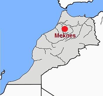Meknes, where it is