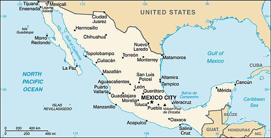Mexico climate: average weather, temperature, precipitation ...