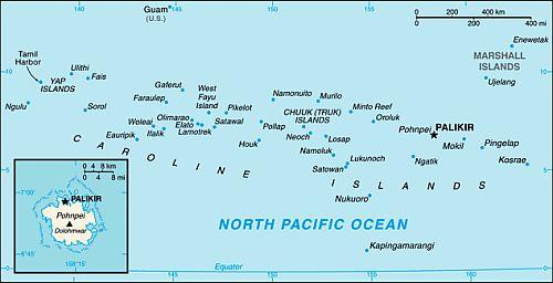 Micronesia climate: average weather, temperature, precipitation