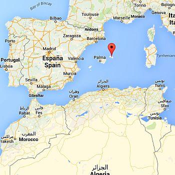 Minorca, where it is