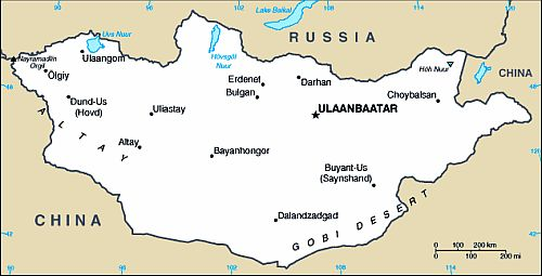 Mongolia Trekking & Walking Holidays and Tours | Climate ... |Ulaanbaatar Climate